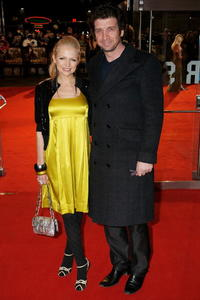 Hannah Sandling and Nick Knowles at the European premiere of