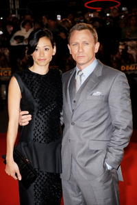 Satsuki Mitchell and Daniel Craig at the European premiere of