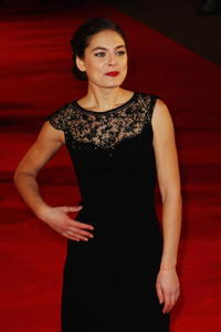 Alexa Davalos at the red carpet of the European premiere of