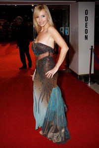 Anneka Svenska at the European premiere of
