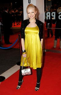 Hannah Sandling at the European premiere of