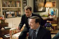 Greg Kinnear as Frank Herlihy and Ricky Gervais as Bertram Pincus in