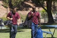 Eddie Cibrian as Brock Houseman and Morris Chestnut as Dave Johnson in