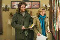 Seth Rogen and Elizabeth Banks in