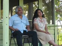 Veronica Loren as Lupe and Pedro Castaneda as Jaime Esparza in