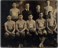 A Jewish basketball team from 1921-22 in
