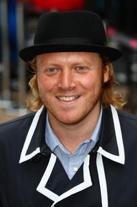 Leigh Francis at the London premiere of