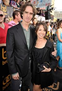 Producer Jay Roach and Susanna Hoffs at the California premiere of