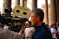 Writer/director Tony Gilroy on the set of