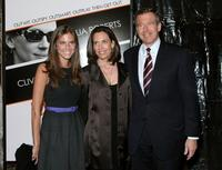 Brian Williams and Guests at the New York premiere of