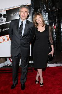 Tony Gilroy and Susan Gilroy at the New York premiere of