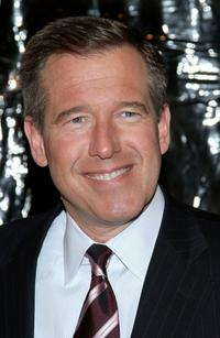 Brian Williams at the New York premiere of