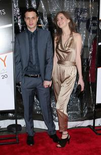 Khan Baykal and Guest at the New York premiere of