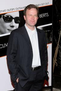 Tom McCarthy at the New York premiere of