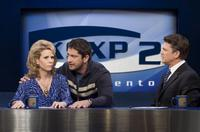 Cheryl Hines, Gerard Butler and John Michael Higgins in