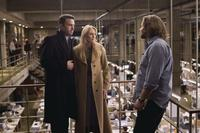 Ben Affleck as Stephen Collins, Robin Wright Penn as Anne and Russell Crowe as Cal McAffrey in