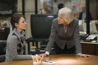 Rachel Mcadams as Della Frye and Helen Mirren as Cameron Lynne in