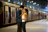 Dev Patel and Freida Pinto in