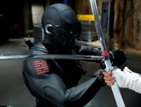 Ray Park as Snake Eyes and Lee Byung-hun as Storm Shadow in