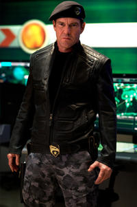 Dennis Quaid as Hawk in