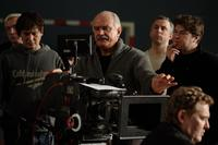 Nikita Mikhalkov on the set of