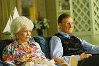 Ellen Burstyn as Barbara Bush and James Cromwell as George H. W. Bush in