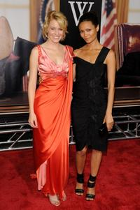 Elizabeth Banks and Thandie Newton at the New York premiere of