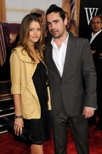 Tara Retes and Jesse Bradford at the New York premiere of