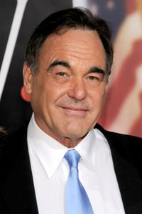 Director Oliver Stone at the New York premiere of
