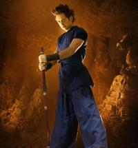 Justin Chatwin as Goku in