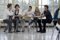 Jackson Rathbone, Ashley Greene, Kellan Lutz, Nikki Reed and Robert Pattinson in