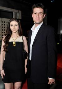 Michelle Trachtenberg and Ben Lyons at the California premiere of