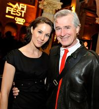 Director/writer John Patrick Shanley and his wife Stella at the after party of the California premiere of