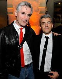 Director/writer John Patrick Shanley and Daniel Battsek at the after party of the California premiere of