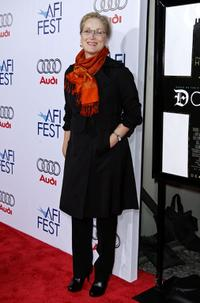 Meryl Streep at the California premiere of