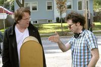 Philip Seymour Hoffman and Charlie Kaufman in
