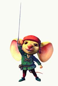 Noble mouse Despereaux in