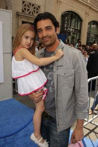Gilles Marini and Guest at the premiere of