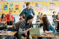 Hunter Parrish as Stan, Zac Efron as Mike O'Donnell and Michelle Trachtenberg as Maggie in