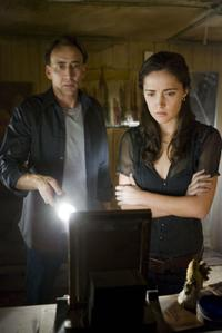 Nicolas Cage and Rose Byrne in