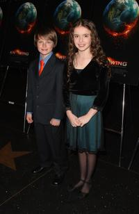 Chandler Canterbury and Lara Robinson at the New York premiere of