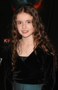 Lara Robinson at the New York premiere of
