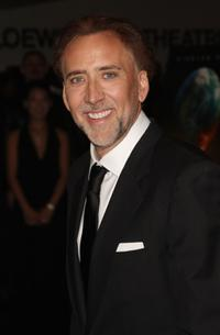 Nicolas Cage at the New York premiere of