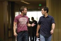 Seann William Scott as Wheeler and Paul Rudd as Danny in