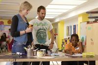 Jane Lynch as Sweeny, Seann William Scott as Wheeler and Bobb'e J. Thompson as Ronnie in