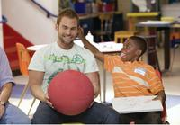 Seann William Scott as Wheeler and Bobb'e J. Thompson as Ronnie in