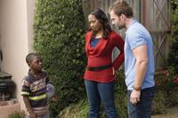 Bobb'e J. Thompson as Ronnie, Nicole Randall Johnson as Karen and Seann William Scott as Wheeler in
