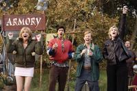 Kerri Kenney-Silver as Lynette, Ken Marino as Jim, A.D. Miles as Martin Gary and Jane Lynch as Sweeny in