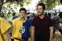 Christopher Mintz-Plasse as Augie and Paul Rudd as Danny in