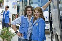 Alexis Georgoulis and Nia Vardalos in